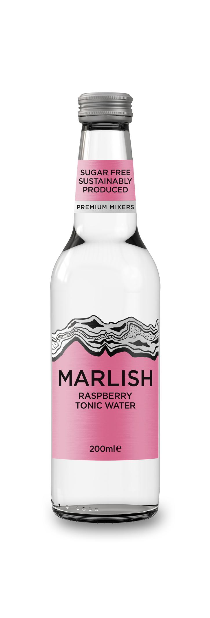 Raspberry Tonic Water